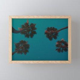 Star Rise in a Vintage LA Framed Mini Art Print