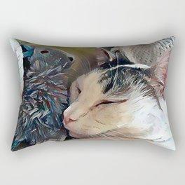 CC Loves His Mouse Rectangular Pillow
