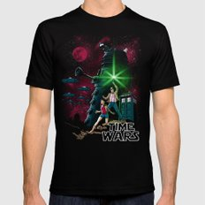 Time Wars Mens Fitted Tee Black LARGE