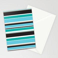 Vivid Stripes Stationery Cards