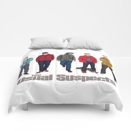 The Usual Suspect casual fashion style Comforters