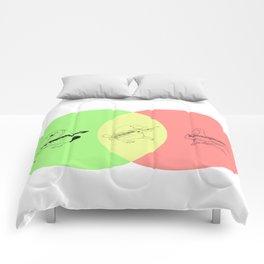 Keytar Platypus Venn Diagram - GYR Comforters