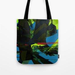 """""""massive structure in sea"""" (bild) Tote Bag"""