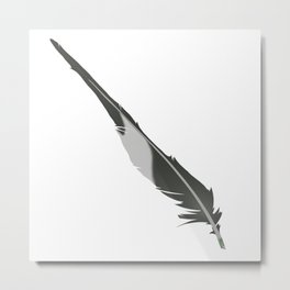 Barn Swallow, Tail feather Metal Print
