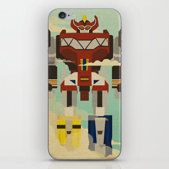 The Mega of the Zords iPhone & iPod Skin