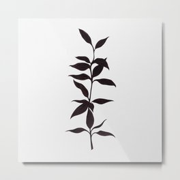 Bamboo ink painting Metal Print