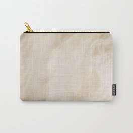 Brown Turquiose Marble texture Carry-All Pouch