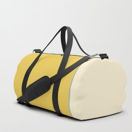 Warm Sunlight Color Block Duffle Bag