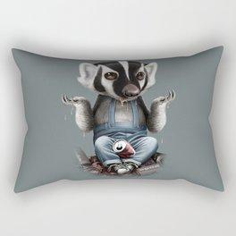 BADGER TAKES ALL Rectangular Pillow