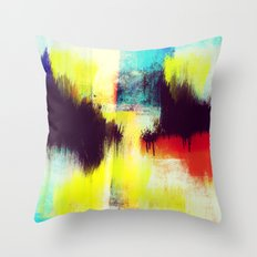 A Subdued Trance Throw Pillow