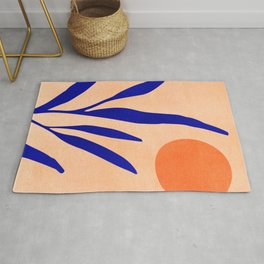 Golden Afternoon II / Abstract Landscape Rug