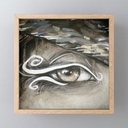 Eyes of the World Framed Mini Art Print