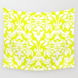 Lemon Fancy Wall Tapestry