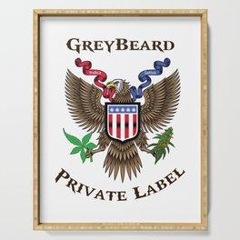 Greybeard Eagle Serving Tray