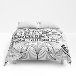 UNFUCK THE FUCKERY Comforters