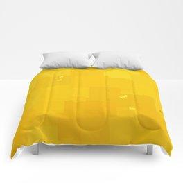 Freesia Square Pixel Color Accent Comforters