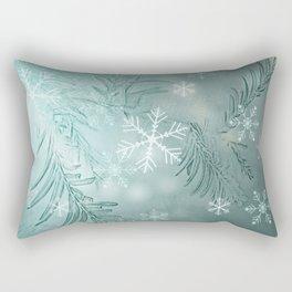 magical snow Rectangular Pillow