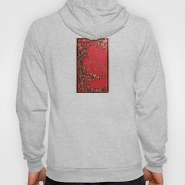 Red and Gold Thistles Hoody
