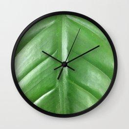 Leaf, Fashion Textures Wall Clock