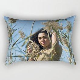 THE LAKE WOMAN Rectangular Pillow