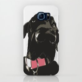Black Great Dane Dog iPhone Case