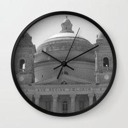 Beautiful Dome BW  Wall Clock