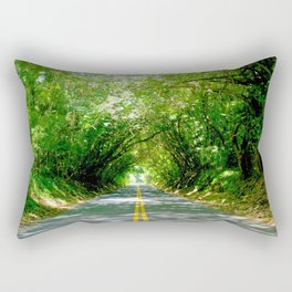 The Old Pali Cathedral Rectangular Pillow