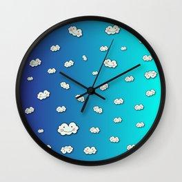 Crazy Clouds! Wall Clock