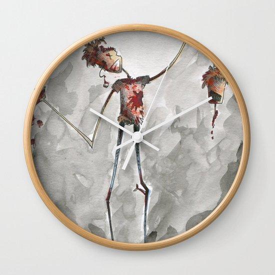 Brains! Wall Clock