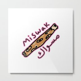 Miswak  Metal Print