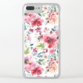 Garden Vibes Pattern Vol. 1 Clear iPhone Case