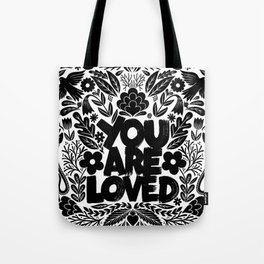 you are loved - garden Tote Bag