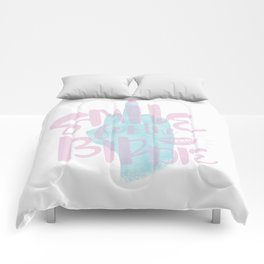 Smile For The Birdie Comforters