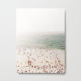 Aerial Beach - Summer Metal Print
