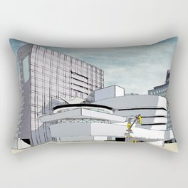 Salomon R. Guggenheim Museum, New York City Rectangular Pillow