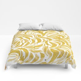 Leaves of Gold Comforters