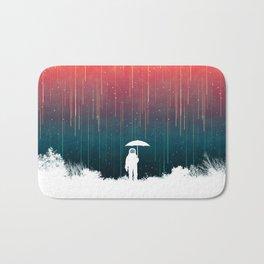 Meteoric rainfall Bath Mat