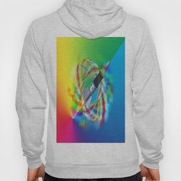 Rainbow Rocket Orbits Hoody
