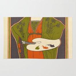 Vintage poster - Louis Rhead Rug