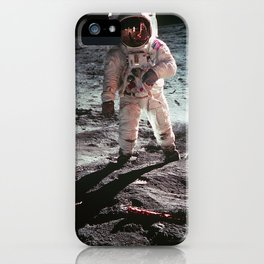 Moon landing 4 iPhone Case