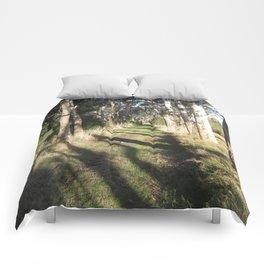 Shadowy Path Comforters