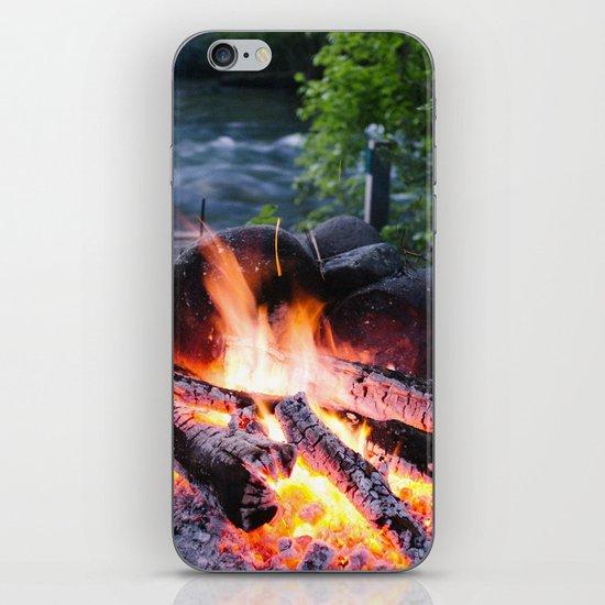 River & Fire iPhone & iPod Skin