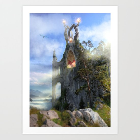 The Sentinels Art Print