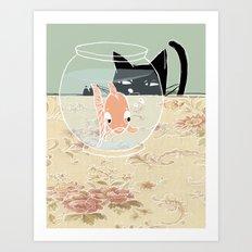 Fishy Art Print
