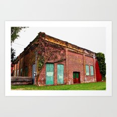 Fern Hill architecture Art Print