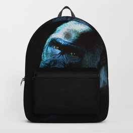 Humanity - Mountain Gorilla in Moonlight Backpack
