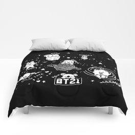 BT21 BTS Cute Graphic Art Comforters