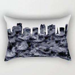 Orlando Skyline Florida Rectangular Pillow