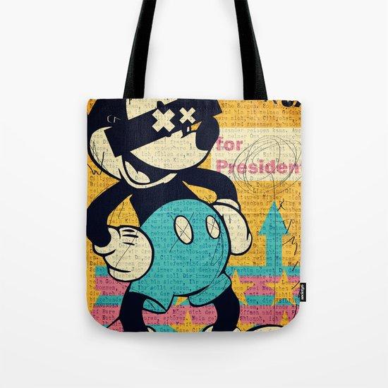 Tricky Mickey Tote Bag
