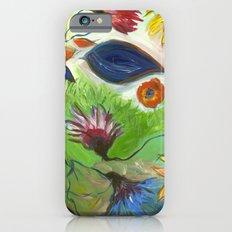 Flower Swirls iPhone 6s Slim Case